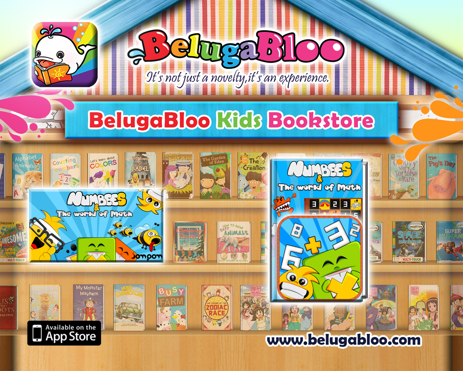 BelugaBloo Cross Promotion Banner